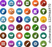 color back flat icon set   barn ... | Shutterstock .eps vector #1229466970