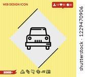 car icon vector | Shutterstock .eps vector #1229470906