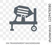 concrete mixer icon. trendy... | Shutterstock .eps vector #1229478580
