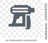 nail gun icon. trendy flat... | Shutterstock .eps vector #1229478733