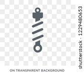 suspension icon. trendy flat...   Shutterstock .eps vector #1229480653