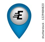 letter e and map pin  logo...