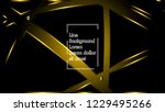 abstract metallic gold black... | Shutterstock .eps vector #1229495266