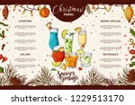 template for restaurant... | Shutterstock .eps vector #1229513170