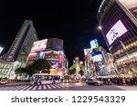 shibuya  tokyo   japan  ... | Shutterstock . vector #1229543329