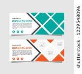 templates of white vector... | Shutterstock .eps vector #1229548096