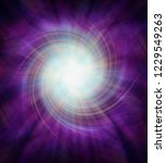 purple vortex spiralling... | Shutterstock . vector #1229549263
