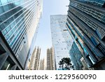 low angle view of business... | Shutterstock . vector #1229560090