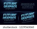 sport future blue glow modern... | Shutterstock .eps vector #1229563060