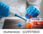 biotechnology engineer... | Shutterstock . vector #1229570833