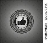 like icon inside retro style... | Shutterstock .eps vector #1229578546