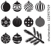 A Set Of Christmas Baubles...