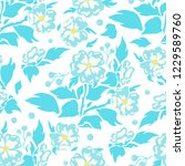 vector seamless pattern  simple ... | Shutterstock .eps vector #1229589760