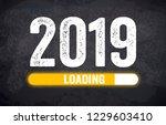 happy new year 2019 | Shutterstock . vector #1229603410