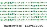 vector illustration of leaves... | Shutterstock .eps vector #1229611030