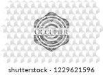 occupier grey badge with...   Shutterstock .eps vector #1229621596