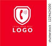 phone logo concept. designed...