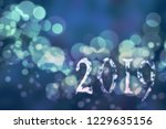 abstract christmas background.... | Shutterstock . vector #1229635156