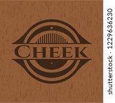 cheek wooden signboards | Shutterstock .eps vector #1229636230