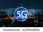 5g network wireless systems and ... | Shutterstock . vector #1229643046