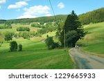 road in rural germany ...   Shutterstock . vector #1229665933