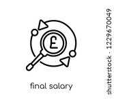 final salary pension scheme... | Shutterstock .eps vector #1229670049