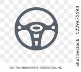 car steering wheel icon. car...   Shutterstock .eps vector #1229672593