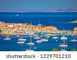 adriatic tourist destination of ... | Shutterstock . vector #1229701210