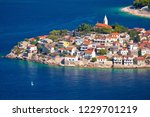 adriatic tourist destination of ... | Shutterstock . vector #1229701219