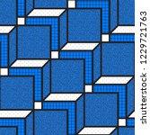 vector geometric seamless... | Shutterstock .eps vector #1229721763
