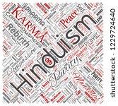 vector conceptual hinduism ... | Shutterstock .eps vector #1229724640