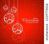 modern merry christmas festival ...   Shutterstock .eps vector #1229775016