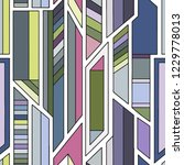 geometric vector seamless...   Shutterstock .eps vector #1229778013