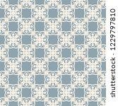 seamless decorative vector... | Shutterstock .eps vector #1229797810