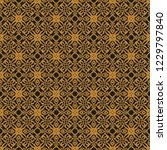 seamless decorative vector... | Shutterstock .eps vector #1229797840