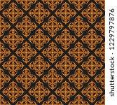 seamless decorative vector... | Shutterstock .eps vector #1229797876