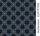 seamless decorative vector... | Shutterstock .eps vector #1229797900