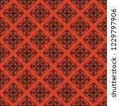 seamless decorative vector... | Shutterstock .eps vector #1229797906
