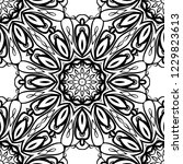 design of a geometric flower... | Shutterstock .eps vector #1229823613