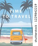 travel  trip vector... | Shutterstock .eps vector #1229842219