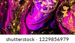 fuchsia and gold colors  art... | Shutterstock . vector #1229856979