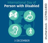international day of person... | Shutterstock .eps vector #1229861800