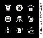 elementary icon. elementary... | Shutterstock .eps vector #1229867899
