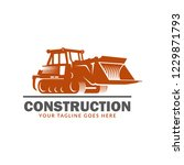 construction logo template ...   Shutterstock .eps vector #1229871793
