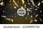 modern magic glitter confetti ... | Shutterstock .eps vector #1229890720