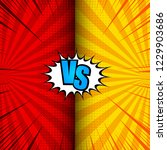 comic vs dynamic concept with... | Shutterstock .eps vector #1229903686
