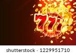 casino winner banner signboard... | Shutterstock .eps vector #1229951710