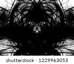 grunge black ink paint.isolated ...   Shutterstock . vector #1229963053
