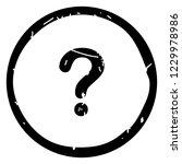 question button icon vector... | Shutterstock .eps vector #1229978986