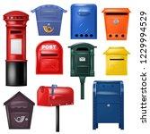 Mail Box Vector Post Mailbox...